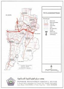 Peta Lokasi Ponpes Sirojul Munir